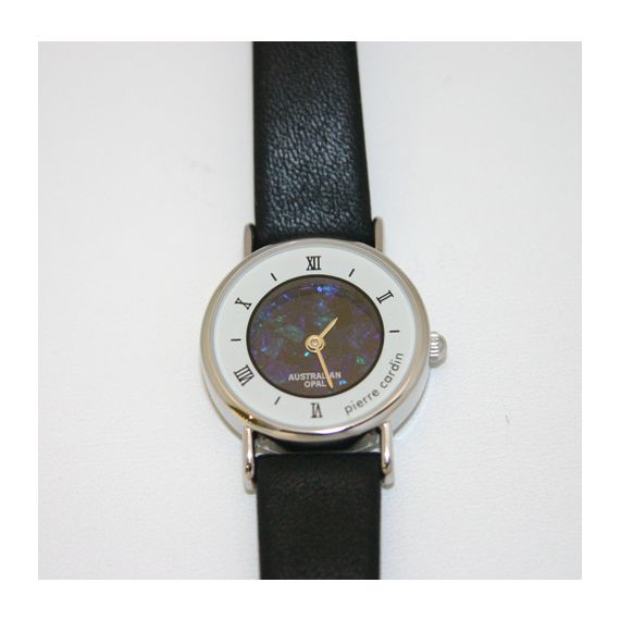 Men's Pierre Cardin opal face watch