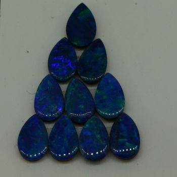 10 x Doublet Opal Loose Stones