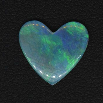 1.76ct Heart Shaped Solid Opal Stone