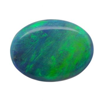Solid Black Opal Stone 2.32ct