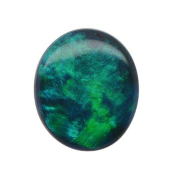 Solid Black Opal Stone 1.03ct