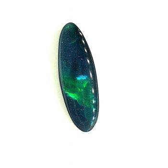 Solid Black Opal 2.17ct