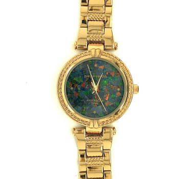 Gold Plated Pierre Cardin Ladies Opal Watch AB