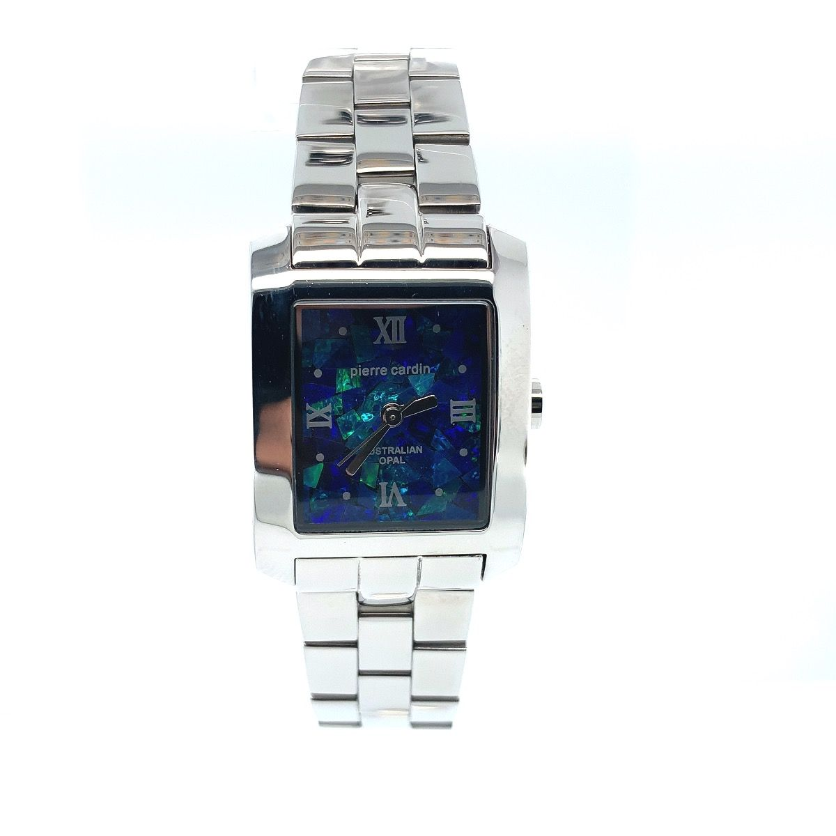 Pierre Cardin ladies opal face watch with Stainless band