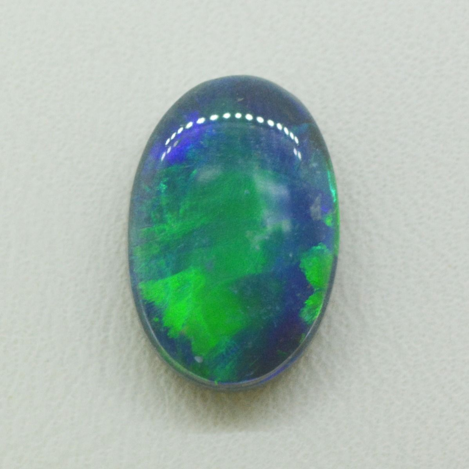 Lightning Ridge Solid Black Opal