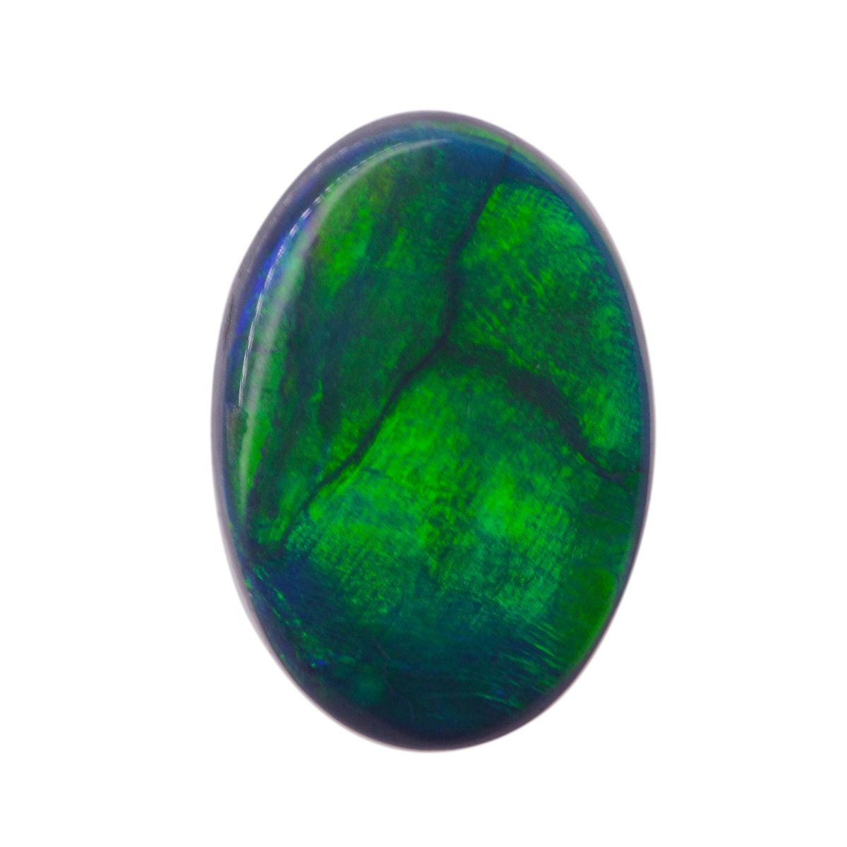 Black Opal Stone 0.90ct  with the letter Y