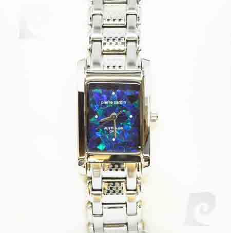 Pierre Cardin Ladies Opal Face Watch