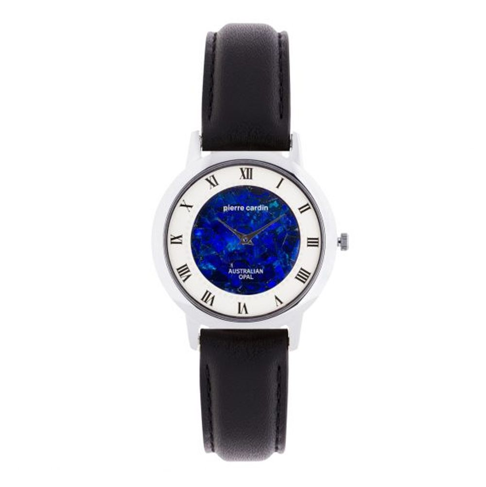 Ladies Pierre Cardin opal face watch with roman numerals